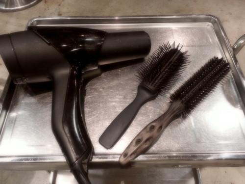家での髪の乾かし方(ブロー)