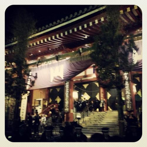 がっきー 浅草寺