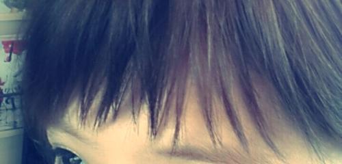 前髪短くすると幼くなるのが心配な時は、軽めの【ギザバング】がおススメ!!