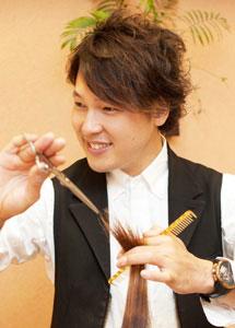 Caro Hair(カーロヘアー) 店長 黒川 恵介さん