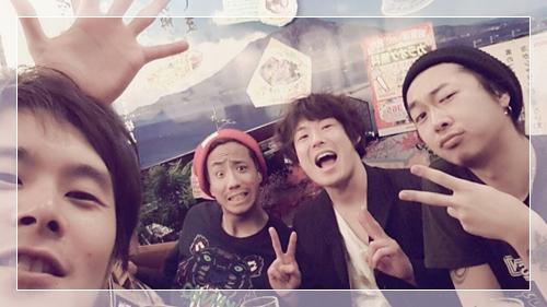 U-REALMのディレクター川田、店長加藤、スタイリスト井上、CHOUCHOUのイッコーでプチ忘年会33173