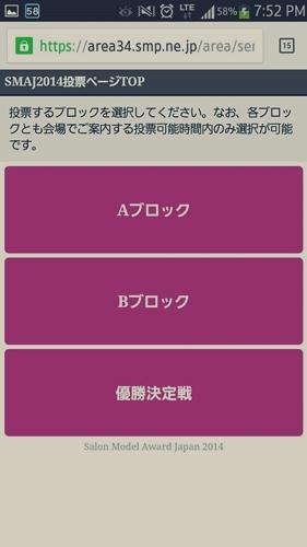 2014-東京ブレンド×SMAJ 日本一のサロンモデルと美容師を決める!【結果】33410