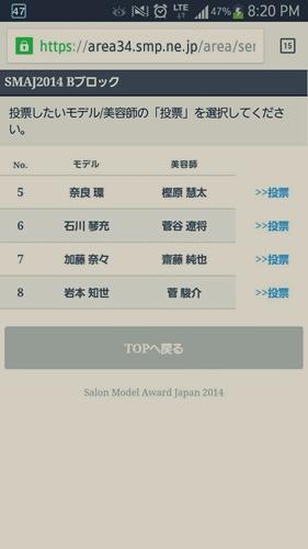 2014-東京ブレンド×SMAJ 日本一のサロンモデルと美容師を決める!【結果】33374