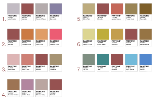 【PANTONE発表の2015年トレンドカラー】来年の髪色に取り入れてみたいMarsala(マルサラ)はこんな色