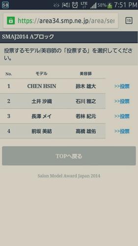 2014-東京ブレンド×SMAJ 日本一のサロンモデルと美容師を決める!【結果】33411