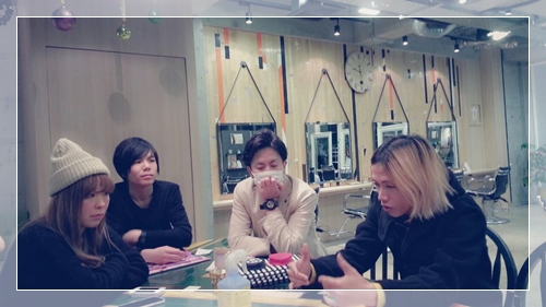 メリークリスマス☆聖なる夜はU-REALMスタイリストミーティング【うちのお店のミーティング事情】33966