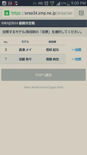 2014-東京ブレンド×SMAJ 日本一のサロンモデルと美容師を決める!【結果】33273