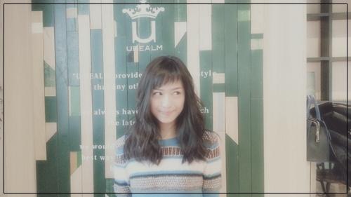 【女優・廣井ゆうさんの髪型】アシメショートバングとビターブラウンカラー4
