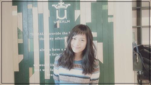 【女優・廣井ゆうさんの髪型】アシメショートバングとビターブラウンカラー6