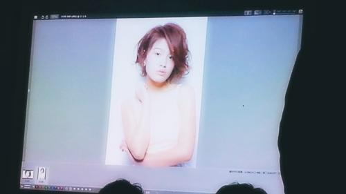 2015年最初の東京ブレンドセミナー Tierra三笠さんのヘアメイク&Zacc増渕さんのメイク(2015・2・15)31