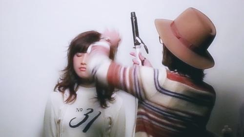 2015年最初の東京ブレンドセミナー Tierra三笠さんのヘアメイク&Zacc増渕さんのメイク(2015・2・15)10