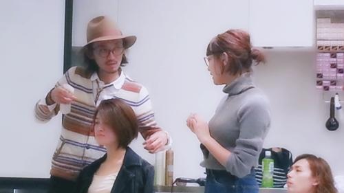 2015年最初の東京ブレンドセミナー Tierra三笠さんのヘアメイク&Zacc増渕さんのメイク(2015・2・15)27