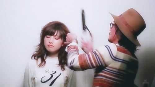 2015年最初の東京ブレンドセミナー Tierra三笠さんのヘアメイク&Zacc増渕さんのメイク(2015・2・15)11