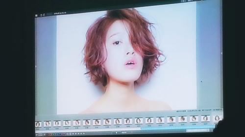 2015年最初の東京ブレンドセミナー Tierra三笠さんのヘアメイク&Zacc増渕さんのメイク(2015・2・15)41