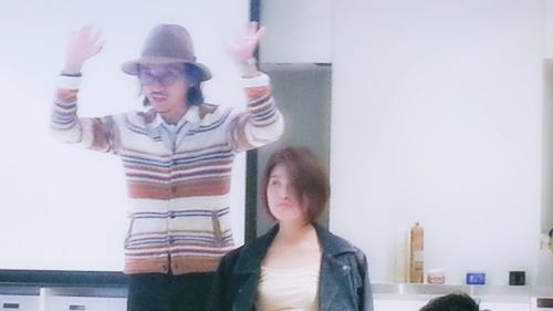 2015年最初の東京ブレンドセミナー Tierra三笠さんのヘアメイク&Zacc増渕さんのメイク(2015・2・15)24