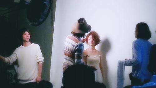 2015年最初の東京ブレンドセミナー Tierra三笠さんのヘアメイク&Zacc増渕さんのメイク(2015・2・15)34