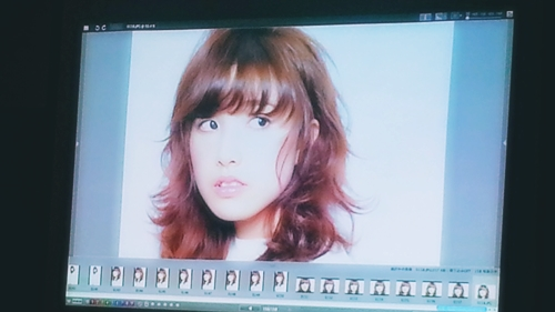 2015年最初の東京ブレンドセミナー Tierra三笠さんのヘアメイク&Zacc増渕さんのメイク(2015・2・15)23
