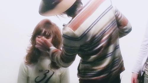 2015年最初の東京ブレンドセミナー Tierra三笠さんのヘアメイク&Zacc増渕さんのメイク(2015・2・15)13