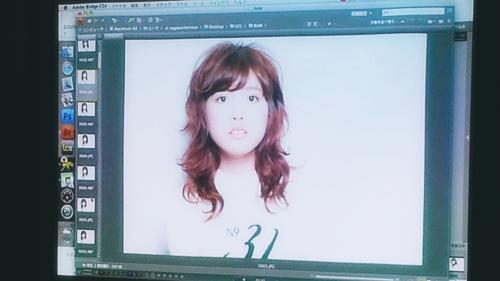2015年最初の東京ブレンドセミナー Tierra三笠さんのヘアメイク&Zacc増渕さんのメイク(2015・2・15)16