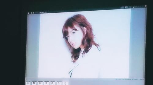 2015年最初の東京ブレンドセミナー Tierra三笠さんのヘアメイク&Zacc増渕さんのメイク(2015・2・15)4