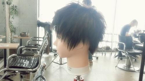朝練でウィッグカットしたさわやかイケメンズスタイル【黒髪でもカッコよさそう】06