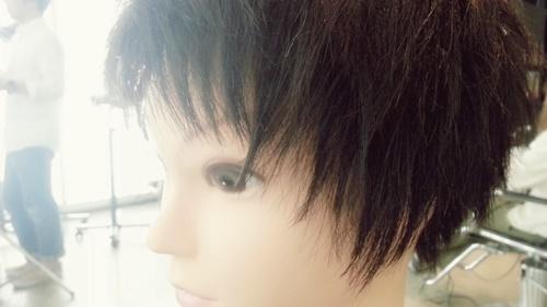 朝練でウィッグカットしたさわやかイケメンズスタイル【黒髪でもカッコよさそう】01