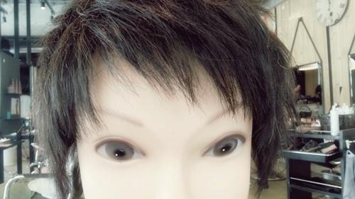 朝練でウィッグカットしたさわやかイケメンズスタイル【黒髪でもカッコよさそう】02
