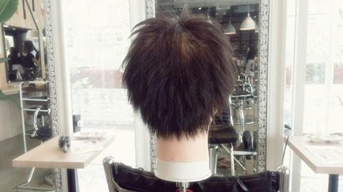 朝練でウィッグカットしたさわやかイケメンズスタイル【黒髪でもカッコよさそう】03
