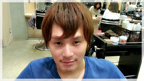 前髪 まっすぐ 男