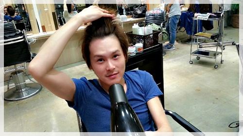 ドライヤーのみで理想の前髪に乾かす方法【4パターン】02