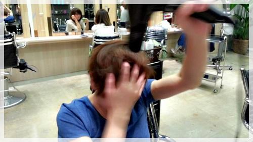 ドライヤーのみで理想の前髪に乾かす方法【4パターン】03