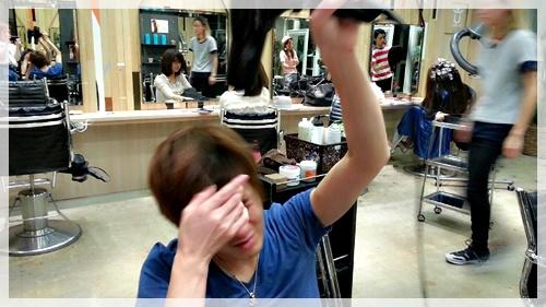 ドライヤーのみで理想の前髪に乾かす方法【4パターン】19