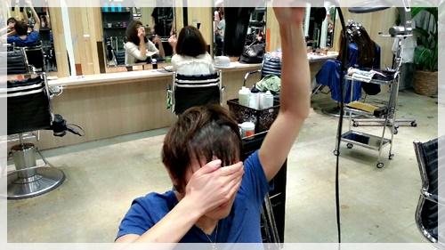 ドライヤーのみで理想の前髪に乾かす方法【4パターン】04