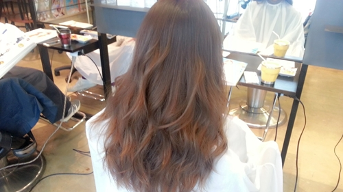 ショコラベージュカラー☆2015秋の人気を先取るならこの髪色04