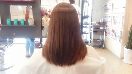 モカブラウンカラー【8~9トーンの髪色。明るく見えすぎないけど、暗く見えすぎない。】04