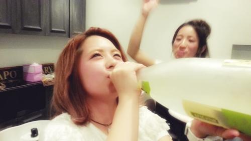 総会BBQユイ誕生日09