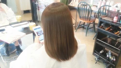 モカブラウンカラー【8~9トーンの髪色。明るく見えすぎないけど、暗く見えすぎない。】02