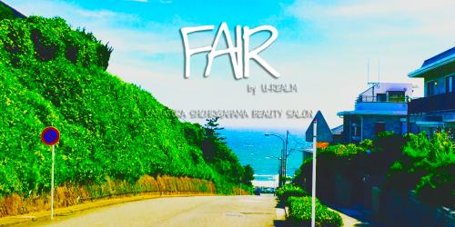 新店舗FAIR by U-REALMのホームページURL決定とオープンまでのご予約先TELのお知らせ