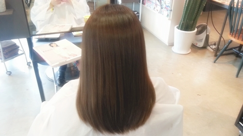 モカブラウンカラー【8~9トーンの髪色。明るく見えすぎないけど、暗く見えすぎない。】03
