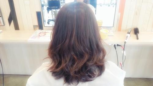 ブラウン系の可愛い髪色☆メルティブラウンで透明感とツヤ感を!02