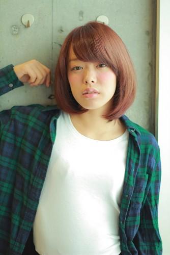 【マルサラブラウン】2015年トレンドカラーを取り入れたSWEET BOB STYLE 宮嶋舞 みやじままい06