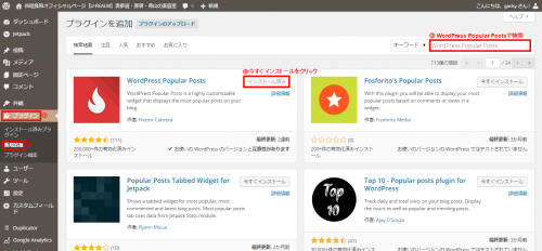 【WordPress Popular Posts】人気記事ランキングを表示出来るワードプレスプラグイン2