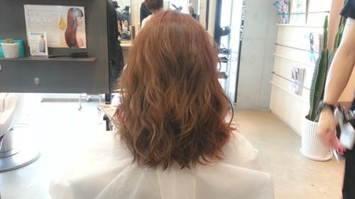 【ガーネットブラウンカラー】赤味を生かした髪色も柔らかい雰囲気で可愛い!