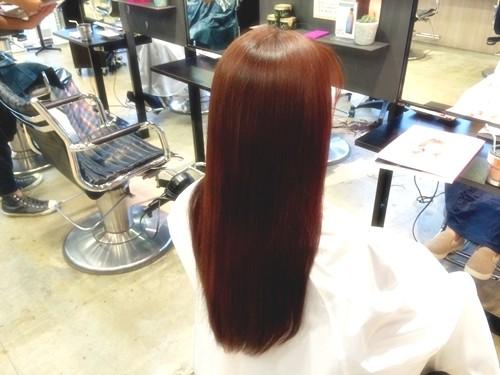 髪色で気分を変えたい☆ファッションに合わせたい☆ガーネットブラウンカラーでイメージチェンジ!00