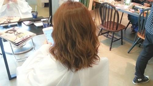【ガーネットブラウンカラー】赤味を生かした髪色も柔らかい雰囲気で可愛い!03