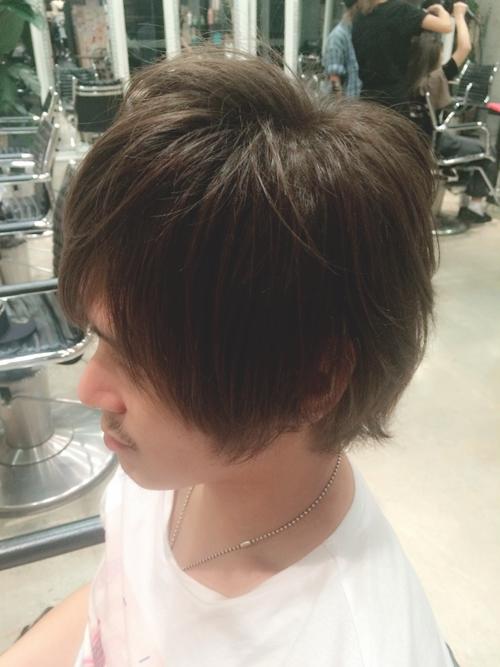 美容師の自分が髪色を【ダークアッシュ】に染めてみました。02