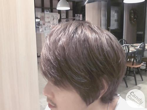 美容師の自分が髪色を【ダークアッシュ】に染めてみました。09