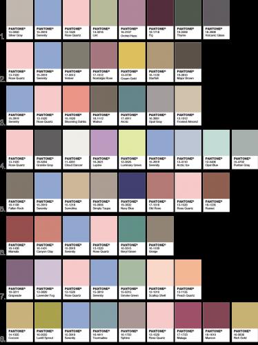 PANTONEが選ぶ2016年のトレンドカラーはこの色14