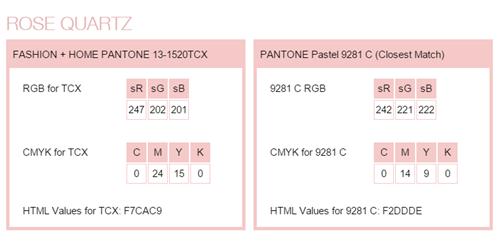 PANTONEが選ぶ2016年のトレンドカラーはこの色12