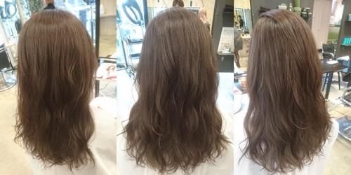 9トーンのチャコールグレーブラウンカラー【彩度低めのマットな質感の髪色】